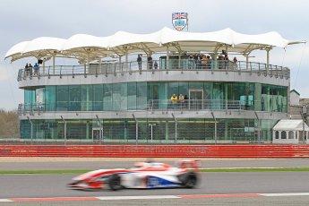 World © Octane Photographic Ltd. BRDC Formula 4 (F4) Championship, Silverstone, April 27th 2013. MSV F4-013, HHC Motorsport, Raoul Hyman. Digital Ref : 0642cb7d9456