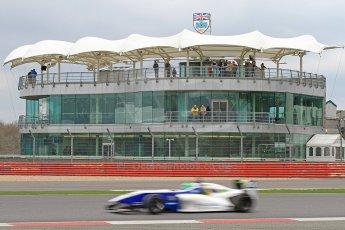 World © Octane Photographic Ltd. BRDC Formula 4 (F4) Championship, Silverstone, April 27th 2013. MSV F4-013, HHC Motorsport, Gustavo Lima. Digital Ref : 0642cb7d9460