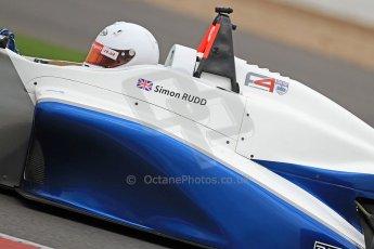 World © Octane Photographic Ltd. BRDC Formula 4 (F4) Championship Silverstone, April 27th 2013. MSV F4-013, Motionsport, Simon Rudd. Digital Ref : 0642cb7d9520