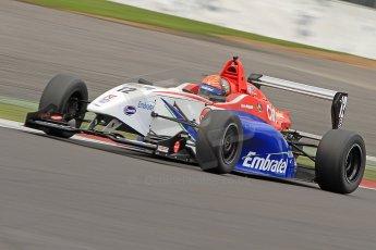 World © Octane Photographic Ltd. BRDC Formula 4 (F4) Championship, Silverstone, April 27th 2013. MSV F4-013, Mark Goodwin Racing, Pietro Fittipaldi.  Digital Ref : 0642cb7d9574