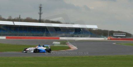 World © Octane Photographic Ltd. BRDC Formula 4 (F4) Championship, Silverstone, April 27th 2013. MSV F4-013, HHC Motorsport, Charlie Robertson. Digital Ref 0642lw1d6256