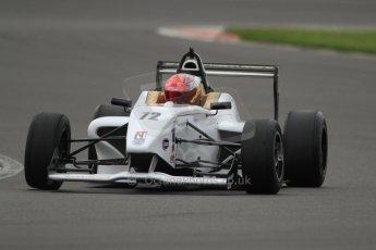 World © Octane Photographic Ltd. BRDC Formula 4 (F4) Championship, Silverstone, April 27th 2013. MSV F4-013, Hillspeed, Rahul Raj Mayer. Digital Ref : 0642cb7d9375