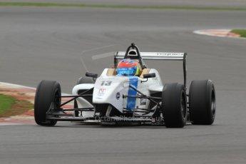 World © Octane Photographic Ltd. BRDC Formula 4 (F4) Championship Silverstone, April 27th 2013. MSV F4-013, Mark Goodwin Racing, Diego Menchaca. Digital Ref : 0642lw7d6986