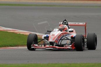 World © Octane Photographic Ltd. BRDC Formula 4 (F4) Championship, Silverstone, April 27th 2013. MSV F4-013, HHC Motorsport, Raoul Hyman. Digital Ref : 0642lw7d7013
