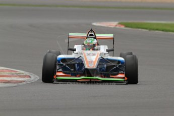 World © Octane Photographic Ltd. BRDC Formula 4 (F4) Championship, Silverstone, April 27th 2013. MSV F4-013, James Greenway. Digital Ref : 0642lw7d7074