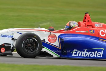 World © Octane Photographic Ltd. BRDC Formula 4 (F4) Championship, Silverstone, April 27th 2013. MSV F4-013, Mark Goodwin Racing, Pietro Fittipaldi. Digital Ref : 0642lw7d7186