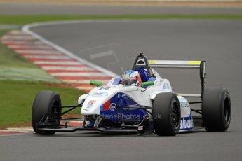 World © Octane Photographic Ltd. BRDC Formula 4 (F4) Championship, Silverstone, April 27th 2013. MSV F4-013, Mark Goodwin Racing, Jake Dalton. Digital Ref : 0642lw7d7258