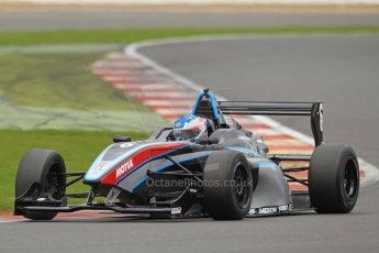 World © Octane Photographic Ltd. BRDC Formula 4 (F4) Championship, Silverstone, April 27th 2013. MSV F4-013, Sean Walkinshaw Racing, Matthew (Matty) Graham. Digital Ref : 0642lw7d7303