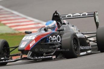 World © Octane Photographic Ltd. BRDC Formula 4 (F4) Championship, Silverstone, April 27th 2013. MSV F4-013, Sean Walkinshaw Racing, Jack Barlow. Digital Ref : 0642lw7d7309