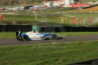 World © Octane Photographic Ltd. Brands Hatch, Qualifying, Sunday 24th November 2013. BRDC Formula 4 Winter Series, MSV F4-13, Matteo Ferrer - MGR. Digital Ref : 0866lw1d7392
