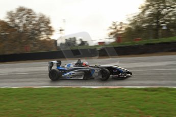 World © Octane Photographic Ltd. Brands Hatch, Qualifying, Sunday 24th November 2013. BRDC Formula 4 Winter Series, MSV F4-13, Falco Wauer – Enigma Motorsport. Digital Ref : 0866lw7d4341