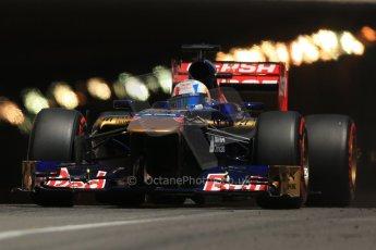 World © 2013 Octane Photographic Ltd. F1 Monaco GP, Monte Carlo -Thursday 23rd May 2013 - Practice 2. Scuderia Toro Rosso STR8 - Jean-Eric Vergne. Digital Ref : 0694lw1d7696
