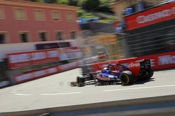 World © 2013 Octane Photographic Ltd. F1 Monaco GP, Monte Carlo -Thursday 23rd May 2013 - Practice 2. Scuderia Toro Rosso STR8 - Jean-Eric Vergne. Digital Ref : 0694lw1d8036