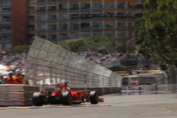 World © 2013 Octane Photographic Ltd. F1 Monaco GP, Monte Carlo -Thursday 23rd May 2013 - Practice 2. Scuderia Ferrari F138 - Fernando Alonso. Digital Ref : 0694lw7d7732