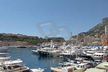 World © Octane Photographic Ltd. Monaco Formula One, Wednesday 22nd May 2013, Monte Carlo. The harbour. Digital Ref : 0691cb7d0509