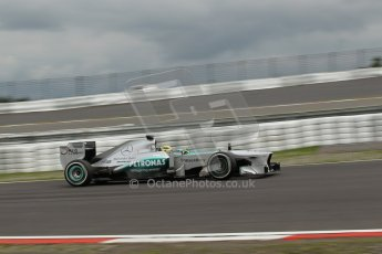 World © Octane Photographic Ltd. F1 German GP - Nurburgring. Friday 5th July 2013 - Practice One. Mercedes AMG Petronas F1 W04 - Nico Rosberg. Digital Ref : 0739lw1d43098
