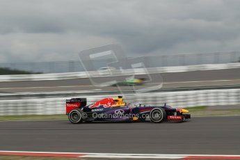 World © Octane Photographic Ltd. F1 German GP - Nurburgring. Friday 5th July 2013 - Practice One. Infiniti Red Bull Racing RB9 - Mark Webber. Digital Ref : 0739lw1d43139