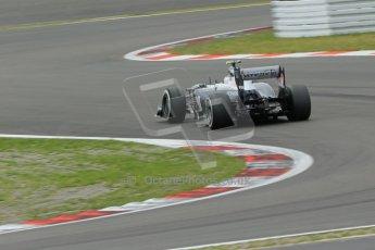 World © Octane Photographic Ltd. F1 German GP - Nurburgring. Friday 5th July 2013 - Practice two. Williams FW35 - Valtteri Bottas. Digital Ref : 0741lw1d4413
