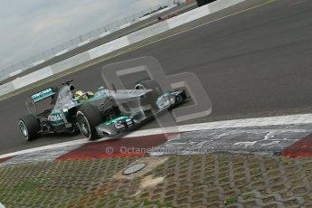World © Octane Photographic Ltd. F1 German GP - Nurburgring. Friday 5th July 2013 - Practice two. Mercedes AMG Petronas F1 W04 - Nico Rosberg. Digital Ref : 0741lw1d4634