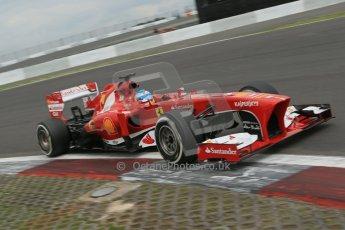 World © Octane Photographic Ltd. F1 German GP - Nurburgring. Friday 5th July 2013 - Practice two. Scuderia Ferrari F138 - Fernando Alonso. Digital Ref : 0741lw1d4639