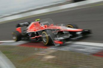 World © Octane Photographic Ltd. F1 German GP - Nurburgring. Friday 5th July 2013 - Practice two. Marussia F1 Team MR02 - Max Chilton. Digital Ref : 0741lw1d4675