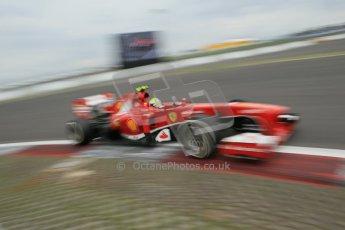 World © Octane Photographic Ltd. F1 German GP - Nurburgring. Friday 5th July 2013 - Practice two. Scuderia Ferrari F138 - Felipe Massa. Digital Ref : 0741lw1d4690
