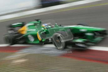 World © Octane Photographic Ltd. F1 German GP - Nurburgring. Friday 5th July 2013 - Practice two. Caterham F1 Team CT03 - Charles Pic. Digital Ref : 0741lw1d4709