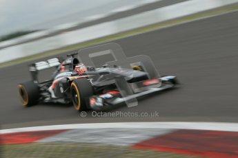 World © Octane Photographic Ltd. F1 German GP - Nurburgring. Friday 5th July 2013 - Practice two. Sauber C32 - Nico Hulkenberg. Digital Ref : 0741lw1d4726