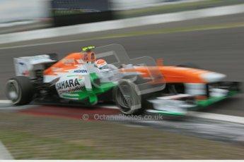 World © Octane Photographic Ltd. F1 German GP - Nurburgring. Friday 5th July 2013 - Practice two. Sahara Force India VJM06 - Adrian Sutil. Digital Ref : 0741lw1d4800