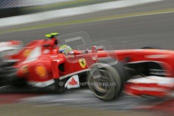 World © Octane Photographic Ltd. F1 German GP - Nurburgring. Friday 5th July 2013 - Practice two. Scuderia Ferrari F138 - Felipe Massa. Digital Ref : 0741lw1d4806