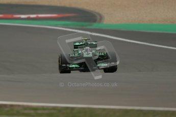World © Octane Photographic Ltd. F1 German GP - Nurburgring. Friday 5th July 2013 - Practice two. Caterham F1 Team CT03 - Giedo van der Garde. Digital Ref : 0741lw1d4885