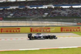World © Octane Photographic Ltd. F1 German GP - Nurburgring. Saturday 6th July 2013 - Practice three. Williams FW35 - Valtteri Bottas. Digital Ref : 0744lw1d4368