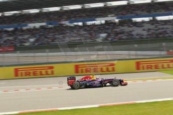 World © Octane Photographic Ltd. F1 German GP - Nurburgring. Saturday 6th July 2013 - Practice three. Infiniti Red Bull Racing RB9 - Mark Webber. Digital Ref : 0744lw1d4437
