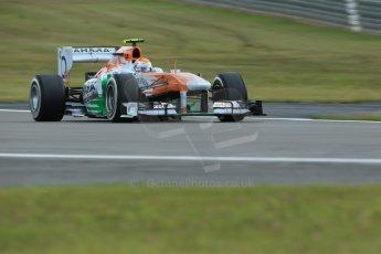 World © Octane Photographic Ltd. F1 German GP - Nurburgring. Saturday 6th July 2013 - Practice three. Sahara Force India VJM06 - Adrian Sutil. Digital Ref : 0744lw1d6004