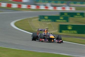 World © Octane Photographic Ltd. F1 German GP - Nurburgring. Saturday 6th July 2013 - Practice three. Infiniti Red Bull Racing RB9 - Sebastian Vettel. Digital Ref : 0744lw1d6079