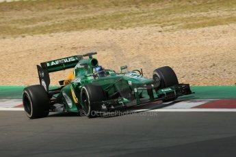 World © Octane Photographic Ltd. F1 German GP - Nurburgring. Saturday 6th July 2013 - Practice three. Caterham F1 Team CT03 - Charles Pic. Digital Ref : 0744lw1d6338