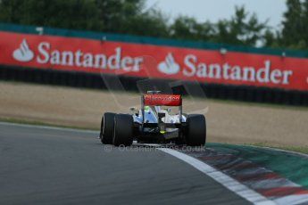 World © Octane Photographic Ltd. F1 German GP - Nurburgring. Saturday 6th July 2013 - Practice three. Vodafone McLaren Mercedes MP4/28 - Sergio Perez . Digital Ref : 0744lw1d6448