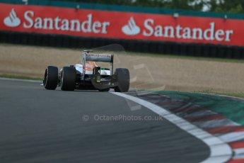 World © Octane Photographic Ltd. F1 German GP - Nurburgring. Saturday 6th July 2013 - Practice three. Sahara Force India VJM06 - Paul di Resta. Digital Ref : 0744lw1d6463