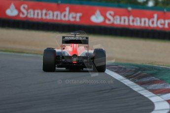 World © Octane Photographic Ltd. F1 German GP - Nurburgring. Saturday 6th July 2013 - Practice three. Marussia F1 Team MR02 - Jules Bianchi. Digital Ref : 0744lw1d6477