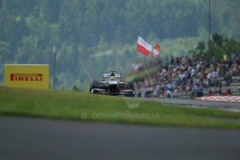 World © Octane Photographic Ltd. F1 German GP - Nurburgring. Saturday 6th July 2013 - Practice three. Sauber C32 - Esteban Gutierrez. Digital Ref : 0744lw1d6548
