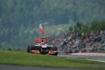 World © Octane Photographic Ltd. F1 German GP - Nurburgring. Saturday 6th July 2013 - Practice three. Vodafone McLaren Mercedes MP4/28 - Jenson Button. Digital Ref : 0744lw1d6652