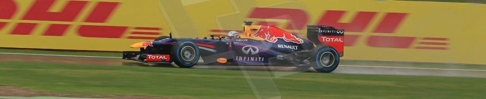 World © Octane Photographic Ltd. F1 British GP - Silverstone, Friday 28th June 2013 - Practice 1. Infiniti Red Bull Racing RB9 - Mark Webber. Digital Ref : 0724lw1d0528