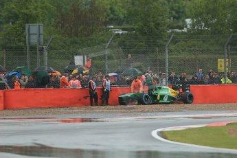 World © Octane Photographic Ltd. F1 British GP - Silverstone, Friday 28th June 2013 - Practice 1. Caterham F1 Team CT03 - Charles Pic. Digital Ref : 0724lw1d0913