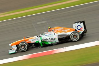 World © Octane Photographic Ltd. F1 British GP - Silverstone, Friday 28th June 2013 - Practice 2. Sahara Force India VJM06 - Adrian Sutil. Digital Ref : 0726ce1d7147