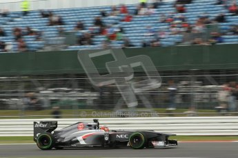 World © Octane Photographic Ltd. F1 British GP - Silverstone, Friday 28th June 2013 - Practice 2. Sauber C32 - Nico Hulkenberg. Digital Ref : 0726lw1d9866
