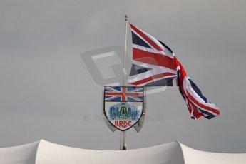 World © Octane Photographic Ltd. F1 British GP - Silverstone, Saturday 29th June 2013 - Practice 3. BRDC Clubhouse. Digital Ref : 0729lw1d0637