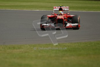 World © Octane Photographic Ltd. F1 British GP - Silverstone, Saturday 29th June 2013 - Practice 3. Scuderia Ferrari F138 - Felipe Massa. Digital Ref : 0729lw1d0910
