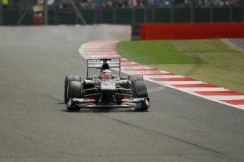 World © Octane Photographic Ltd. F1 British GP - Silverstone, Saturday 29th June 2013 - Qualifying. Sauber C32 - Nico Hulkenberg. Digital Ref : 0730lw1d1279