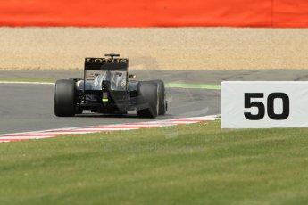World © Octane Photographic Ltd. F1 British GP - Silverstone, Saturday 29th June 2013 - Qualifying. Lotus F1 Team E21 - Kimi Raikkonen. Digital Ref : 0730lw1d1452