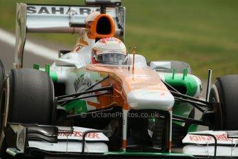 World © Octane Photographic Ltd. F1 British GP - Silverstone, Saturday 29th June 2013 - Qualifying. Sahara Force India VJM06 - Paul di Resta. Digital Ref : 0730lw1d1533